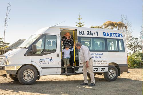KANGAROO ISLAND BUS TOURS Charters tour packages transfers